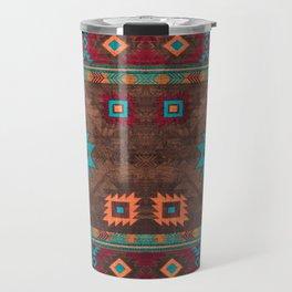 Bohemian Traditional Southwest Style Design Travel Mug