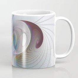 Dynamic, Abstract Fractal Art Coffee Mug