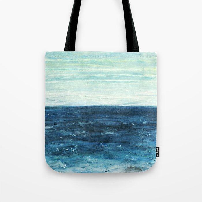 Horizon at the Baltic sea Tote Bag