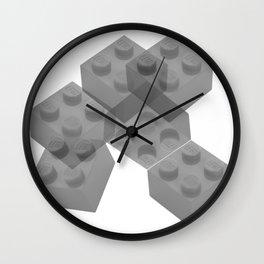 Brixed Mixed Wall Clock