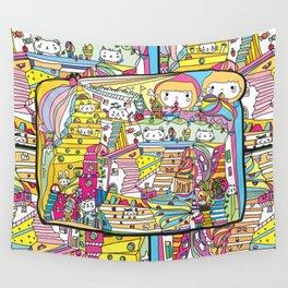 cartoon wonderland Wall Tapestry