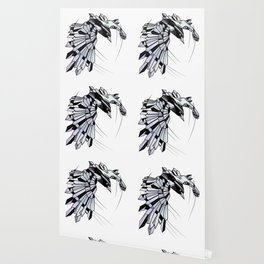 Geometric Raven Wallpaper
