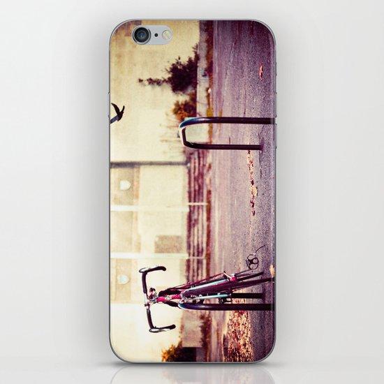 Abandoned bike iPhone & iPod Skin
