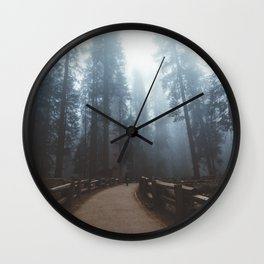 Sequoia Trail Wall Clock