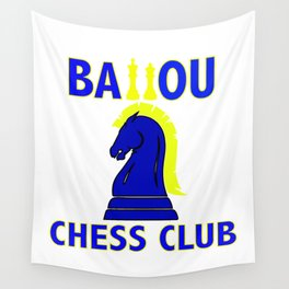 Ballou's Chess CLub Wall Tapestry