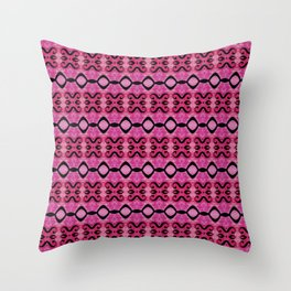 Lines in symphony Throw Pillow