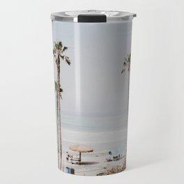 palm trees x / california Travel Mug