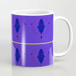 Luxury purple Moroco Ornaments Zulify Coffee Mug
