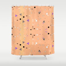 NEW WAVE CHEMISTRY  Shower Curtain