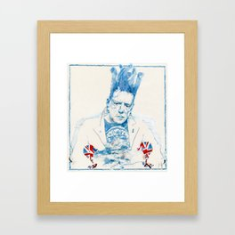Johnny Rotten Framed Art Print