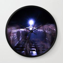 Ghostly 2 Wall Clock