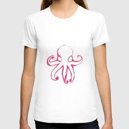 Pink Octopus T-shirt