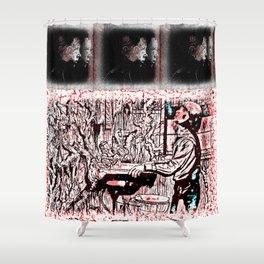 Eleven Stranger Upside Downs Shower Curtain