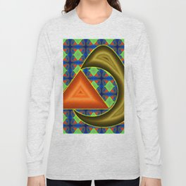 Absorbing triangle ... Long Sleeve T-shirt