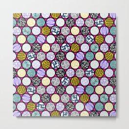 Filled Circles Metal Print