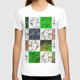 Odd squares T-shirt