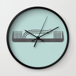 Comb Over Wall Clock