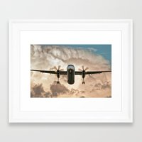 aviation Framed Art Prints featuring Aviation Series by Jose Renteria Cobos