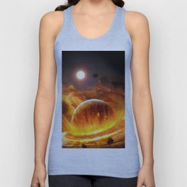 Planet Attack Unisex Tank Top