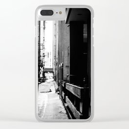 Dreaming of Better Days Clear iPhone Case