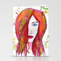 valentina Stationery Cards featuring Valentina by Laurie Art Gallery