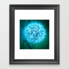 Glow. Framed Art Print