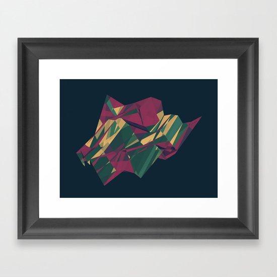 Crystalline 1 Framed Art Print
