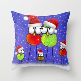 Tis' The Season Throw Pillow
