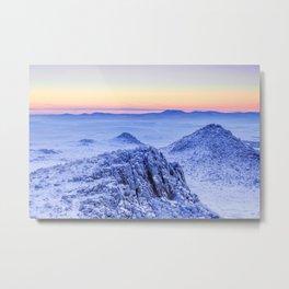 Frozen lands Metal Print