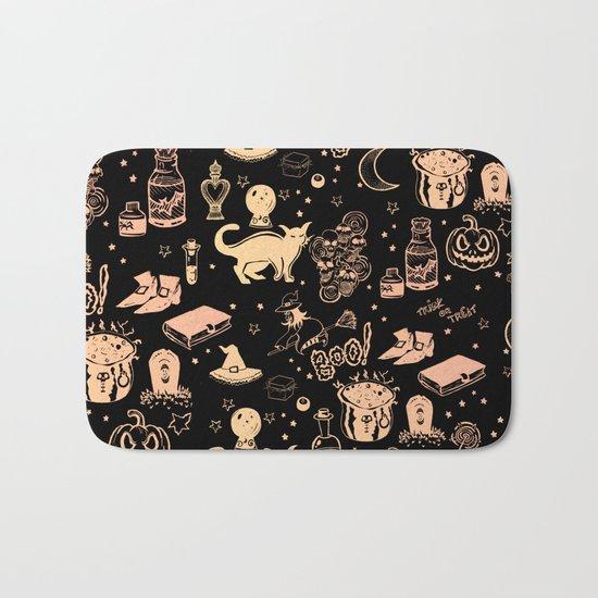 Halloween Print Bath Mat