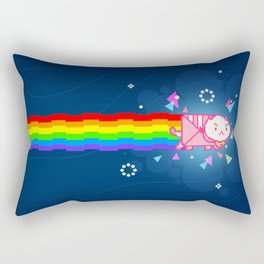 PuppyCat Rectangular Pillow