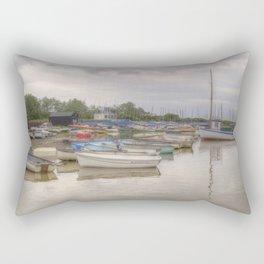 Orford Quay, UK Rectangular Pillow