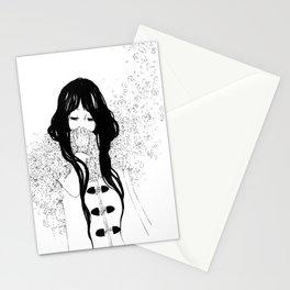 Flower Scarf Stationery Cards