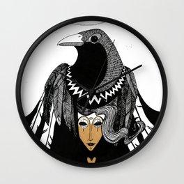 Bird Women 3 Wall Clock