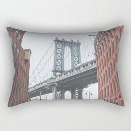 Dumbo Brooklyn New York City Rectangular Pillow