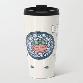 Sushi Love Metal Travel Mug