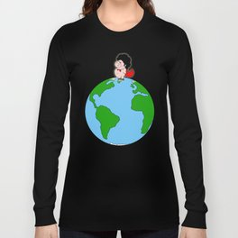 Taking over the world Long Sleeve T-shirt