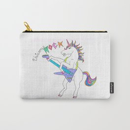 Unicorns can ROCK Carry-All Pouch