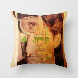 Michael D2 Throw Pillow
