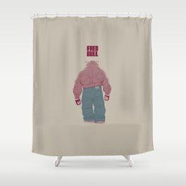 Fred Bull Shower Curtain