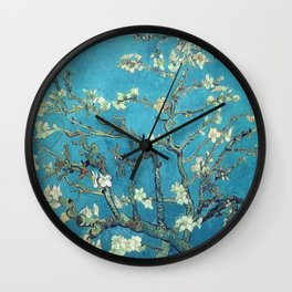 almond blossom van gogh Wall Clock