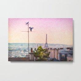 Montmartre Views Metal Print