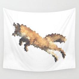 Penrose Tiling Fox  Wall Tapestry