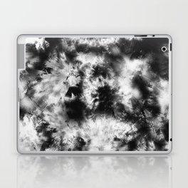 Black and White Tie Dye & Batik Laptop & iPad Skin
