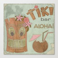 aloha Canvas Prints featuring Aloha by Robin Curtiss