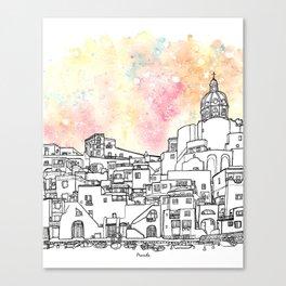 Splash   Procida Canvas Print