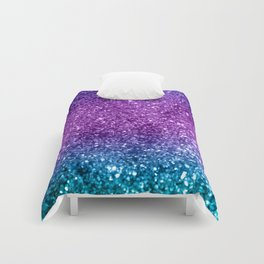 Unicorn Girls Glitter #10 #shiny #decor #art #society6 Comforters