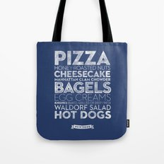 New York — Delicious City Prints Tote Bag