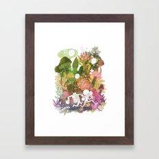 The Time Jerks Framed Art Print