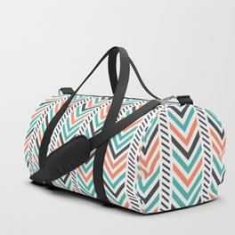 Colorful Geometric Boho Abstract Duffle Bag
